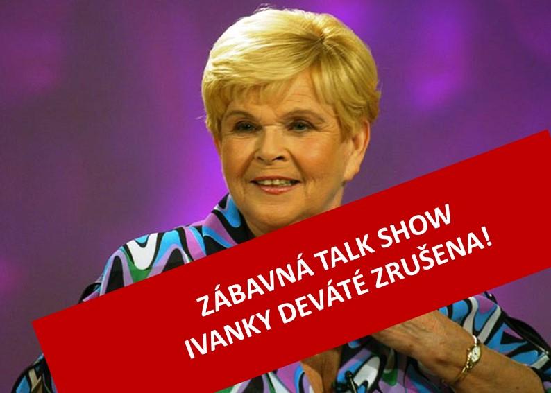 IVANKA DEVÁTÁ - zábavná talk show