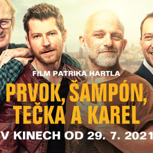 PRVOK, ŠAMPÓN, TEČKA A KAREL 1